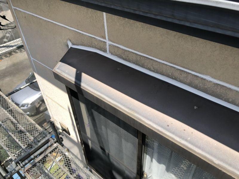 住宅の外壁工事の様子です R1.07.30