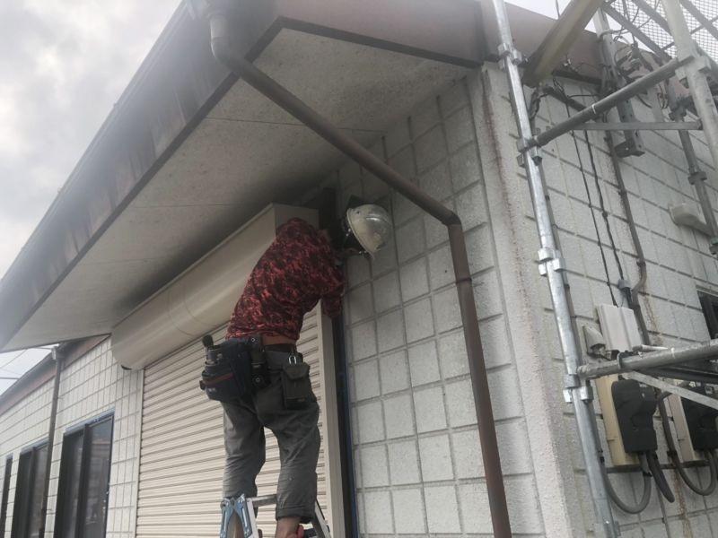 住宅の外壁改修工事を行いましたR01.08.21
