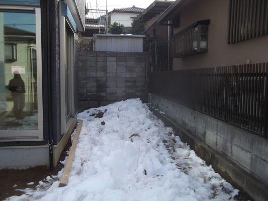 K様邸 坪庭 before