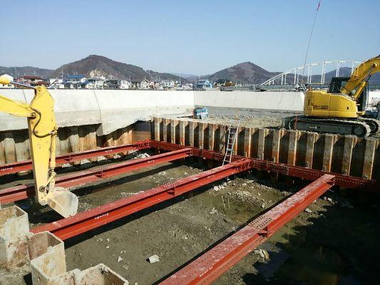 石巻市 排水施設施工