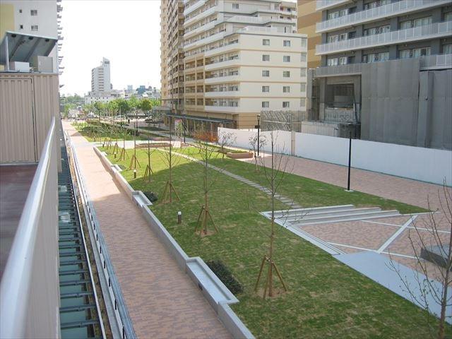 湊町中央広場 株式会社景観設計研究所在籍中作品