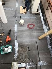 ベランダ防水改修工事