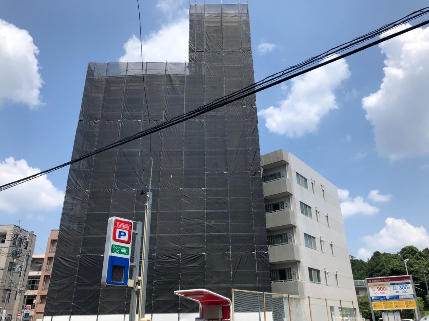 【マンション】塗装工事