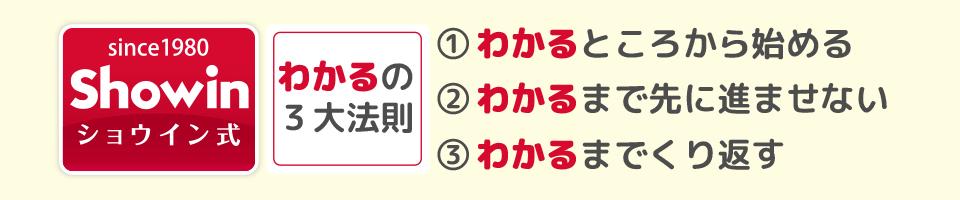 わかるの3大法則