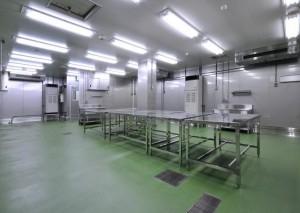鶏肉加工工場1