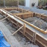 2階建てコンテナ工事 61