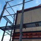2階建てコンテナ工事 131