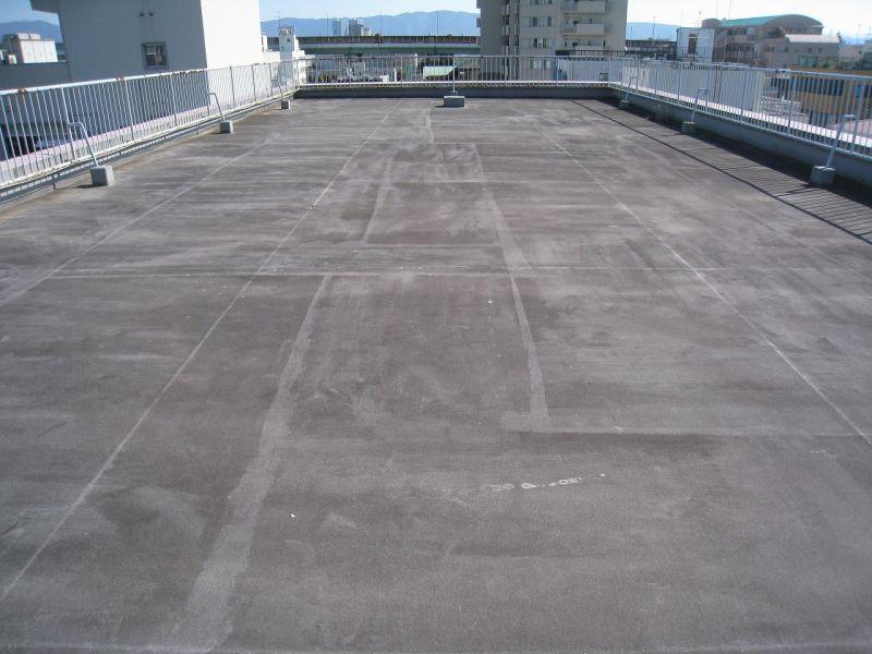 マンション陸屋根の防水工事