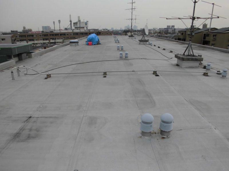 川崎市高津区Pマンション屋上防水工事