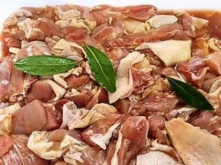味付き国産(九州産)若鶏もも肉(生)