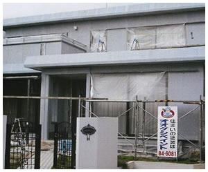 施工前-C様邸の外壁塗装