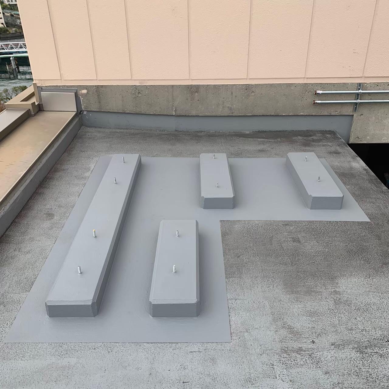 大型ショッピングセンター・ポリマーセメント系防水画像