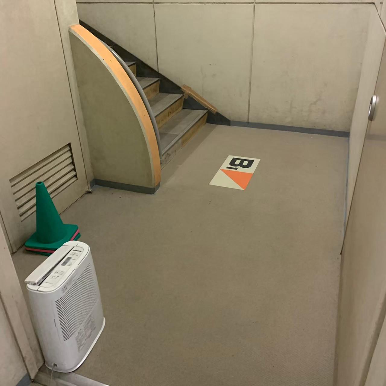神奈川県厚木市小学校・ウレタン塗膜線防水工事画像