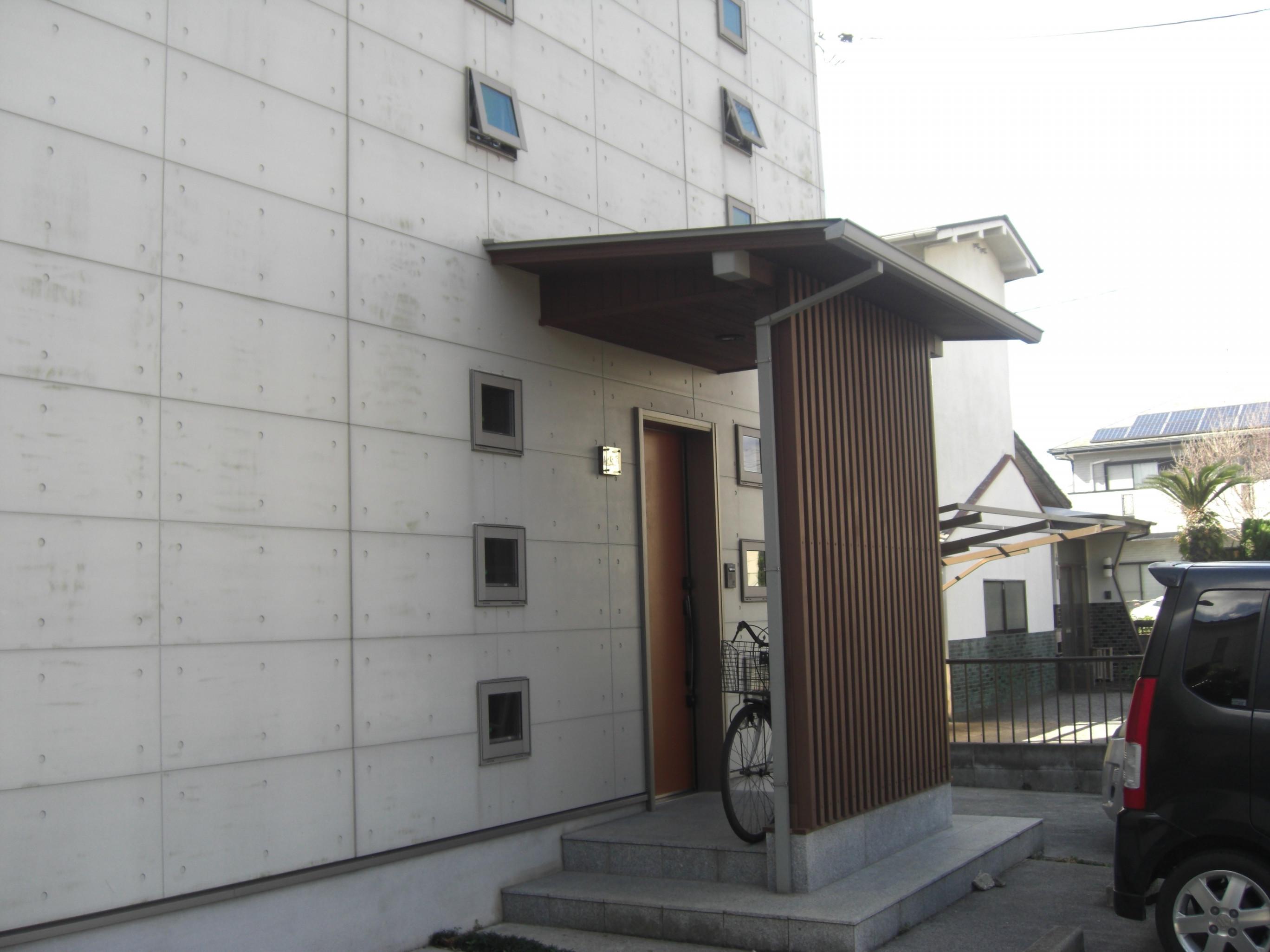 山陽小野田市O様邸外壁フッ素塗装