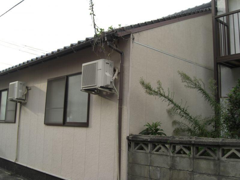 萩市N様所有借家外壁シリコン塗装