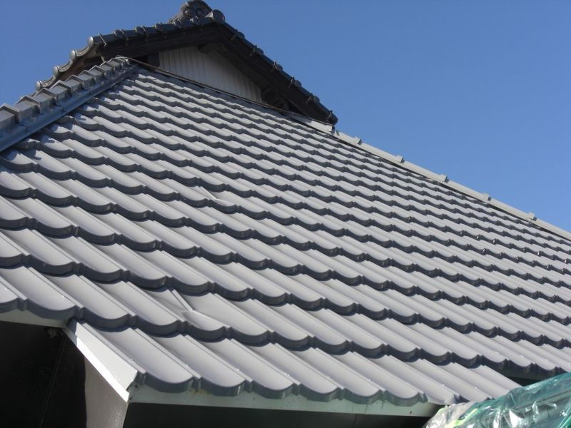 山口市k様邸屋根塗装