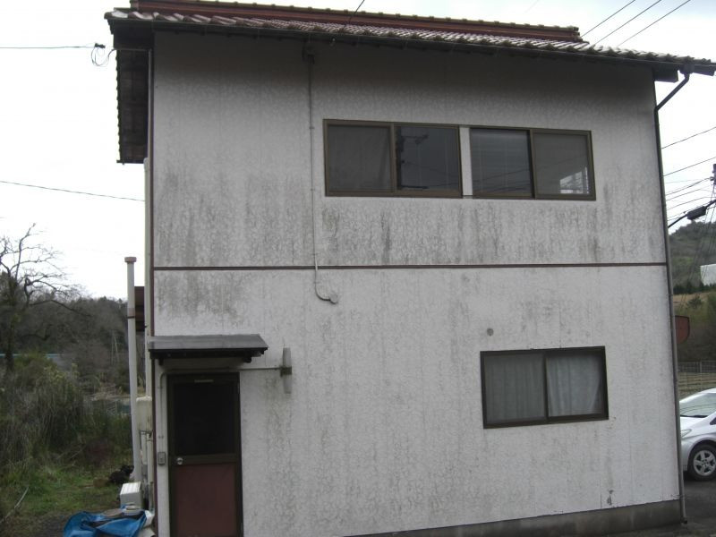 美祢市S様邸外壁塗装