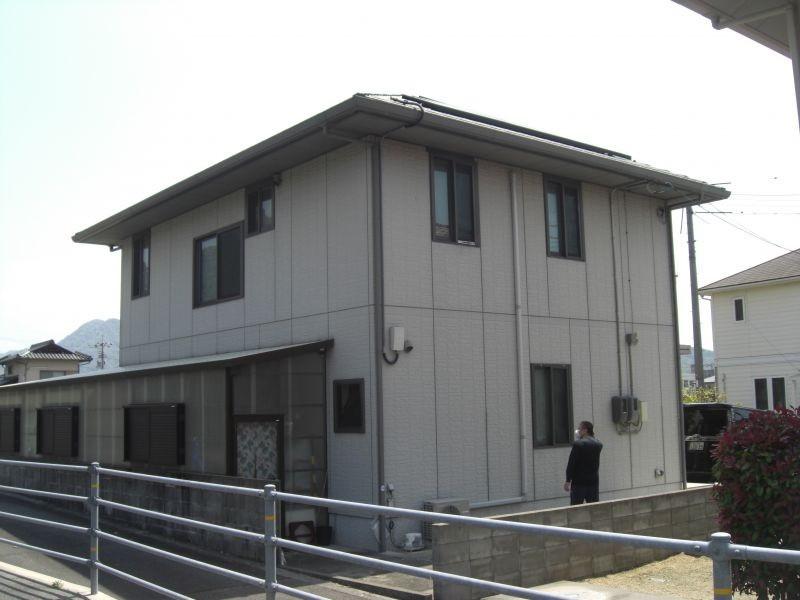 防府市O様邸外壁ラジカル制御型塗装
