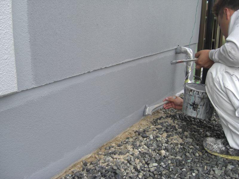宇部市k様邸外壁塗装