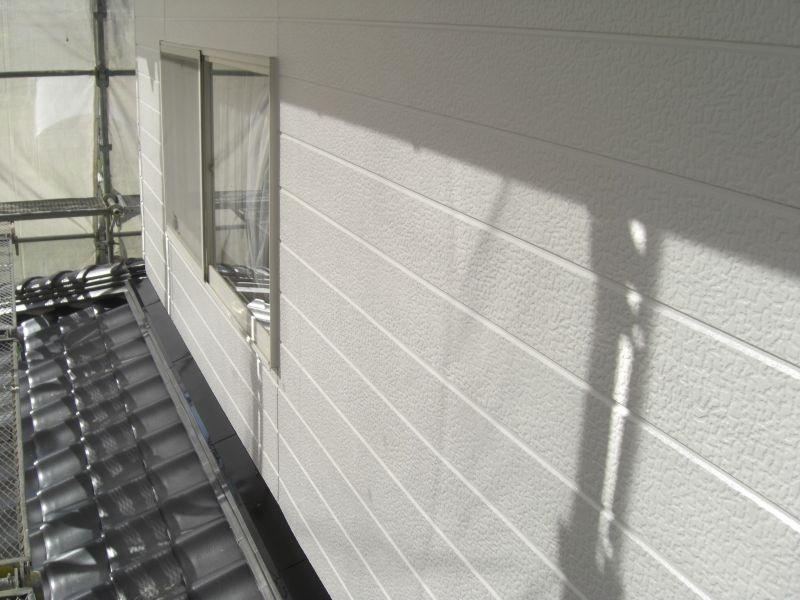 萩市O様邸外壁シリコン塗装