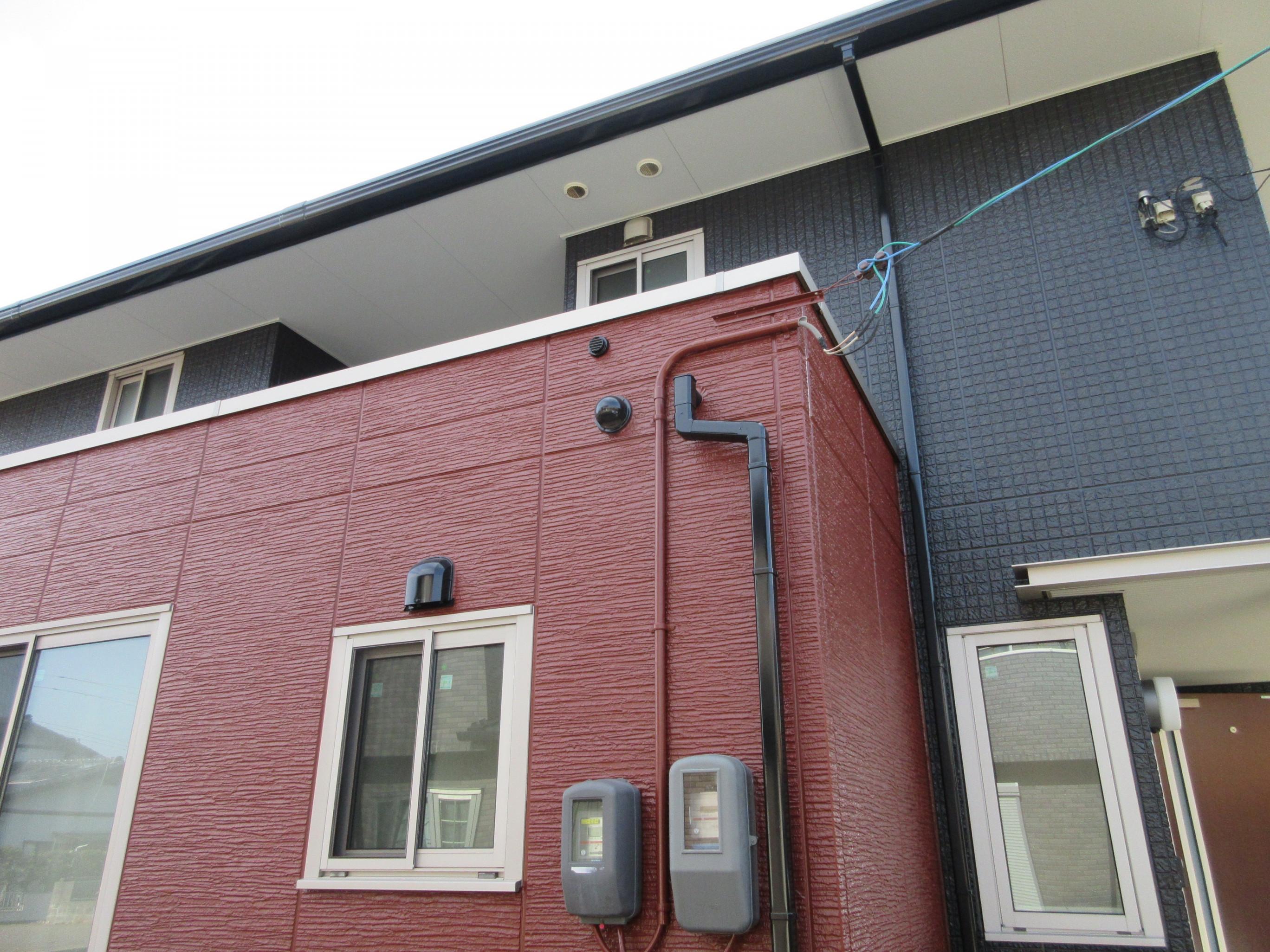防府市k様邸外壁フッ素塗装