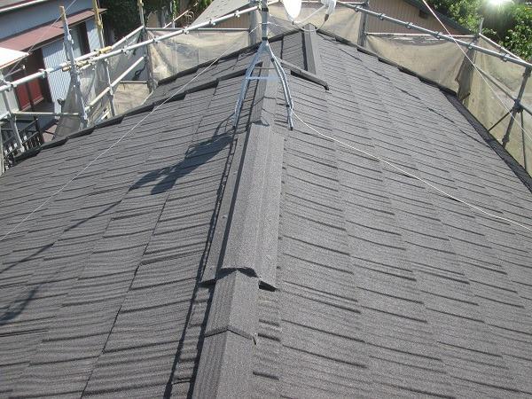 町田市 N様邸 屋根塗装   塗装の事なら加山塗装