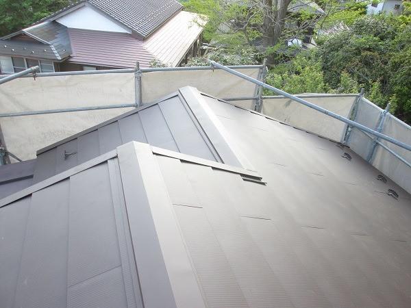 町田市 M様邸 屋根塗装   塗装の事なら加山塗装