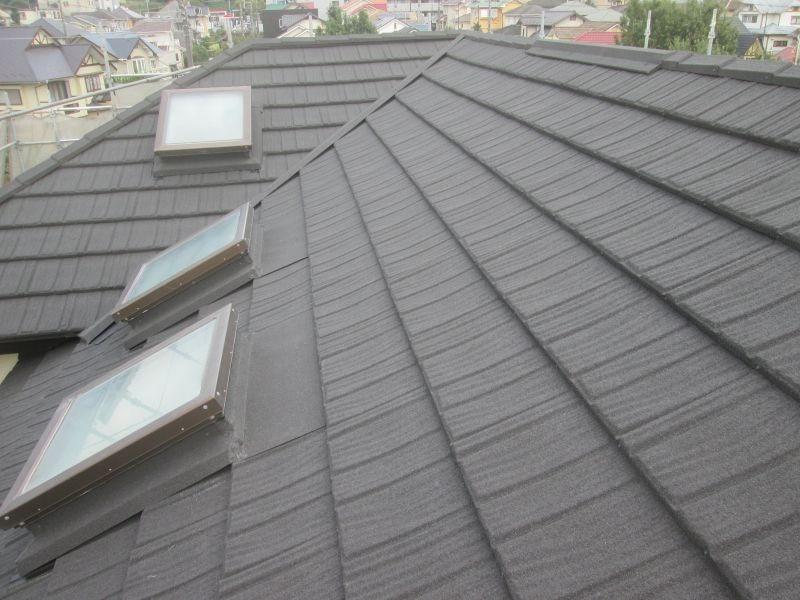 屋根葺き替え工事   塗装の事なら加山塗装