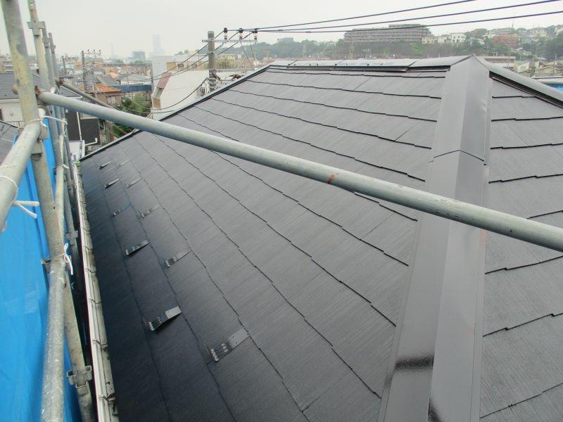 町田市 F様邸 屋根塗装   塗装の事なら加山塗装