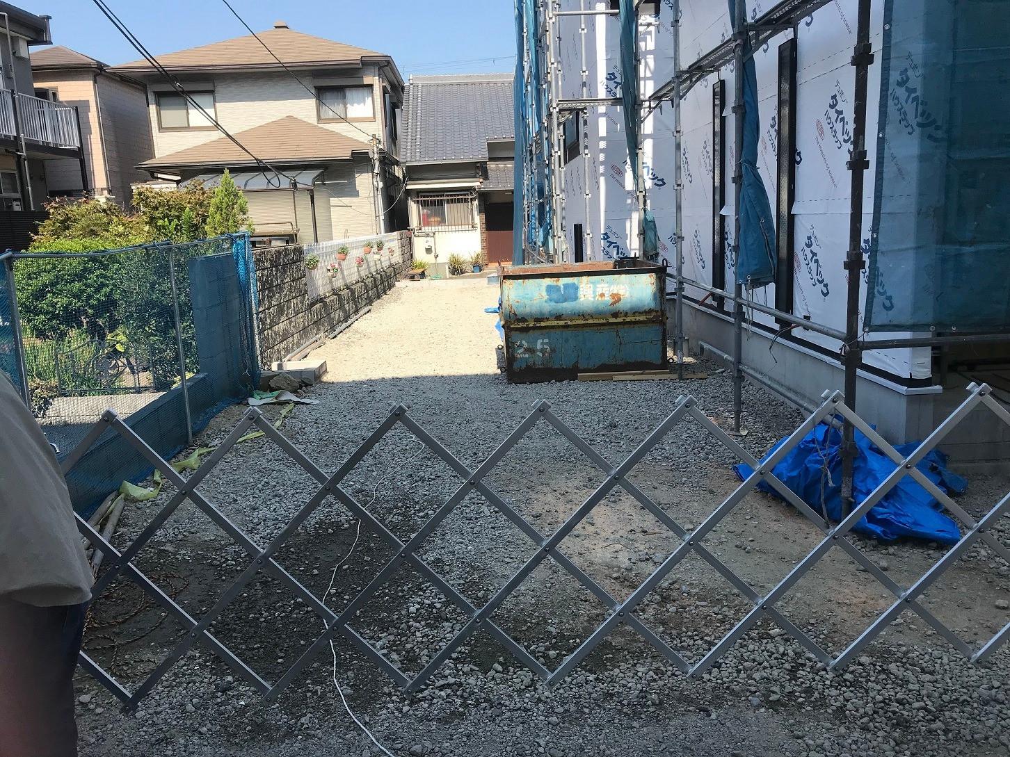 堺市南旅籠町住宅外構工事