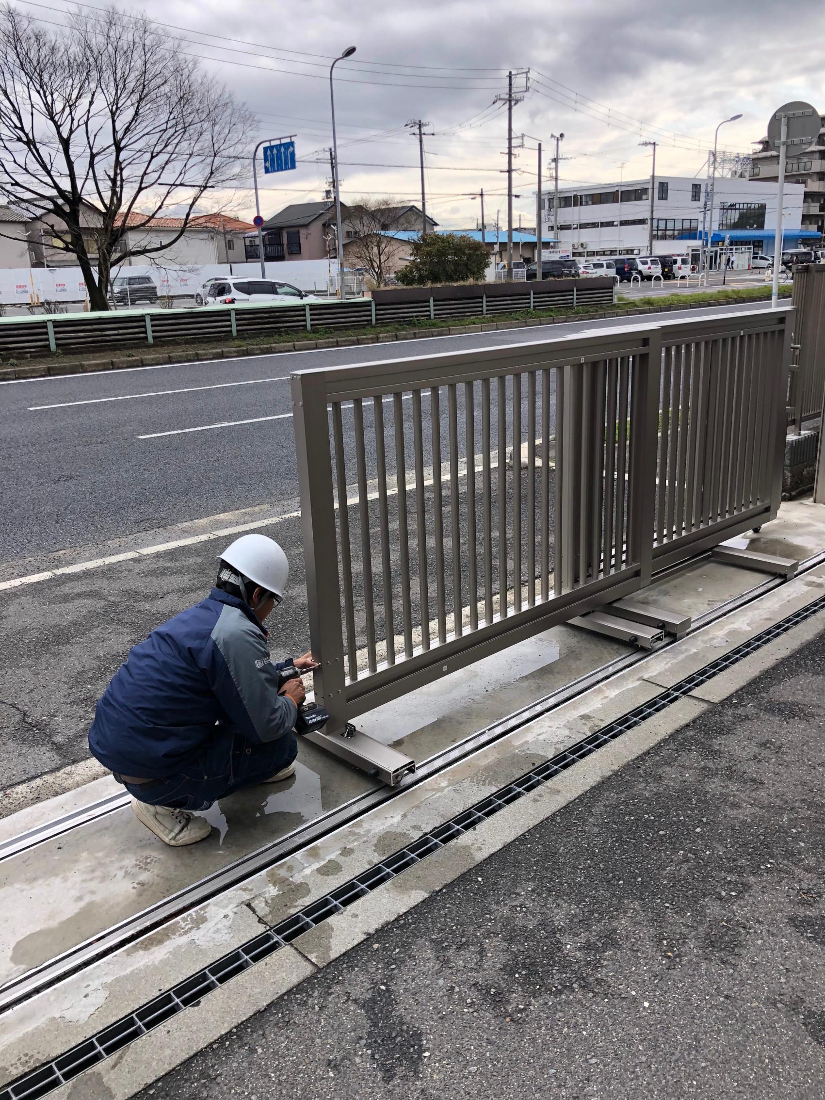 泉大津大型ゲート補修工事