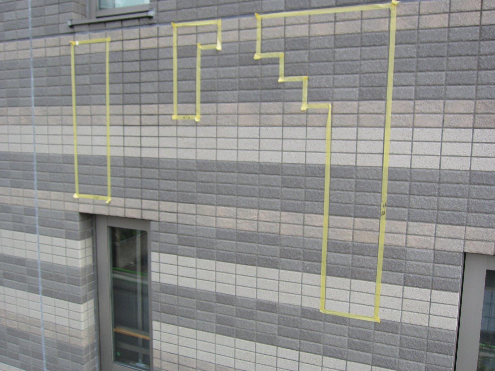 板橋区/マンション   ◆外壁打診調査画像