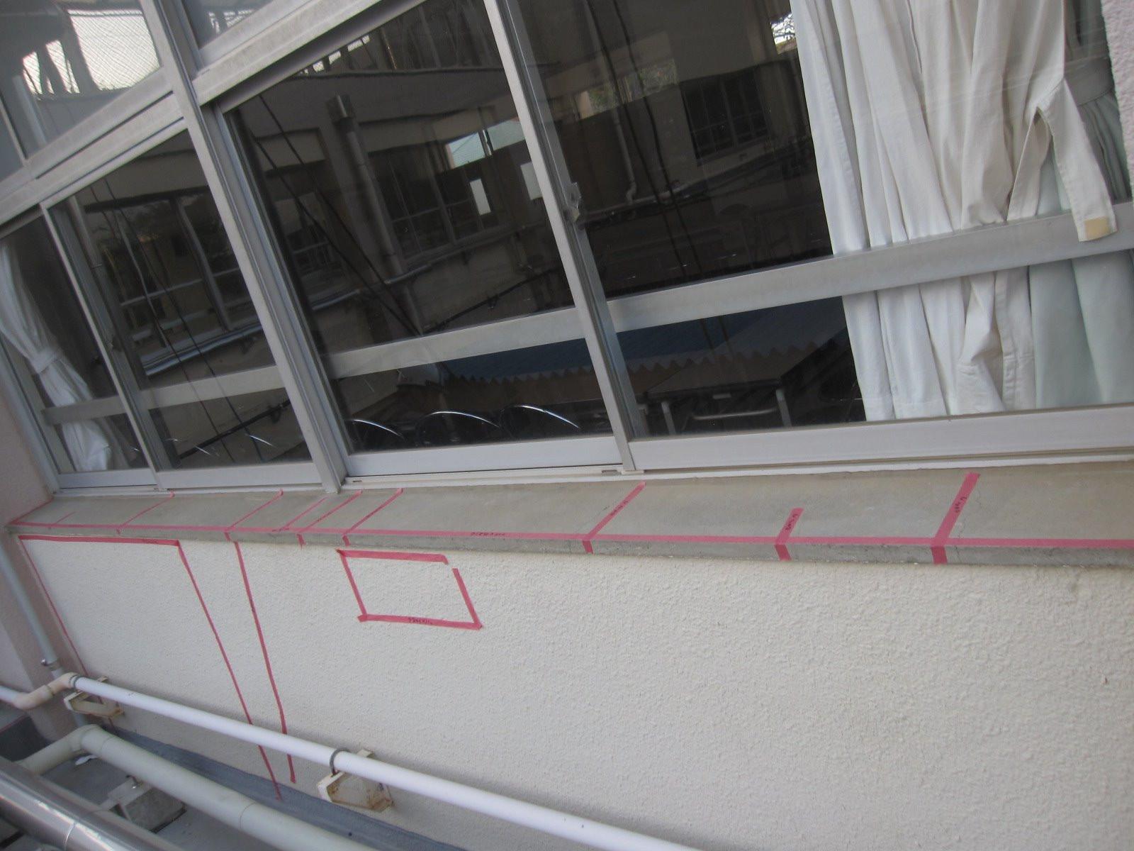 練馬区/学校      ◆外壁打診調査画像