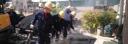 舗装工事画像
