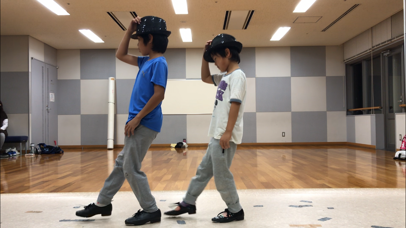 🎵タップボーイズもカッコよく踊ってます❣️