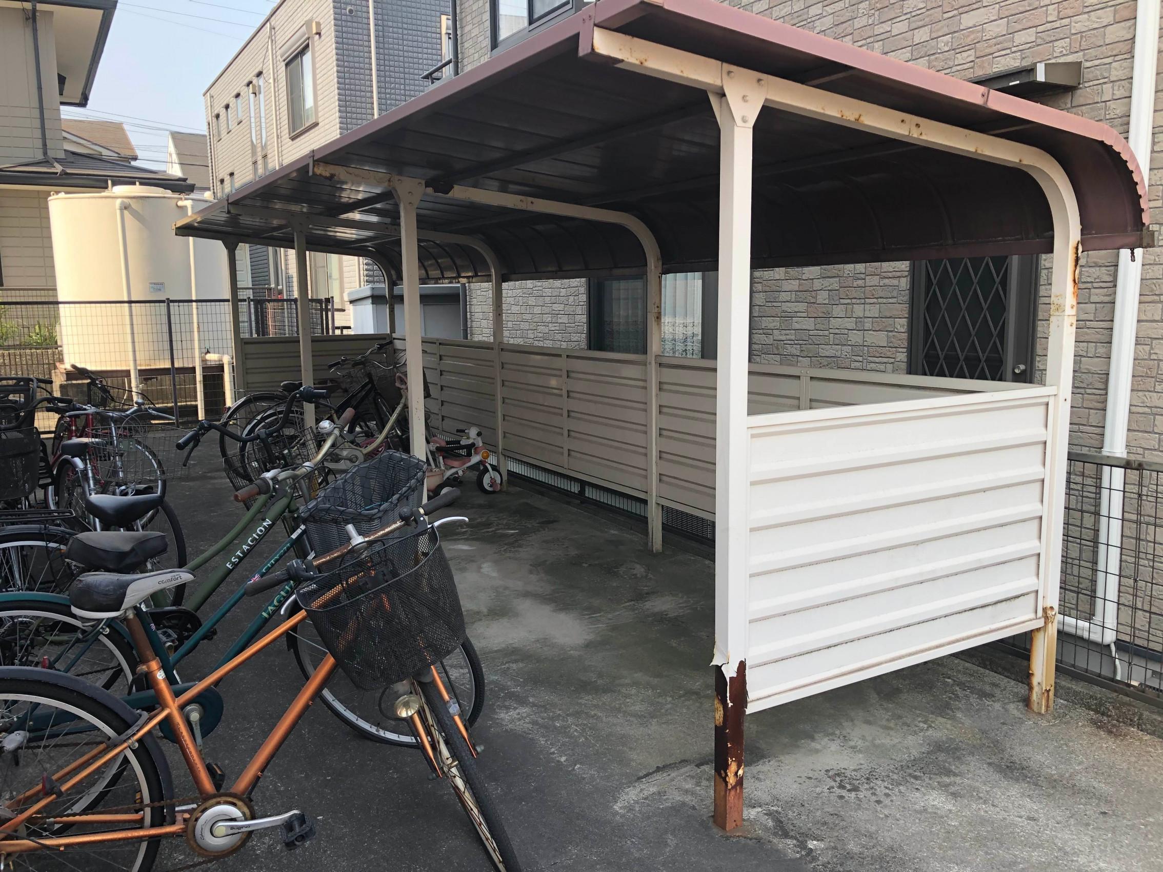 知多自転車置き場