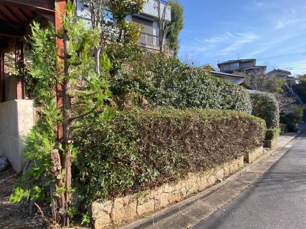 奈良県 F様邸 剪定 草刈 の施工イメージ画像02