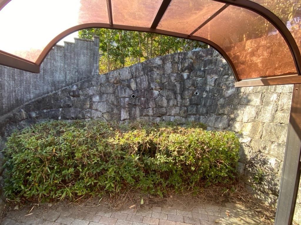 奈良県 F様邸 剪定 草刈 の施工イメージ画像01