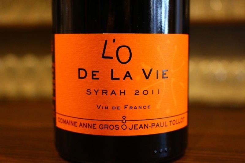 ロー・ドゥ・ラ・ヴィ 2011  アンヌ・グロ& ジャン・ポール・トロ フランス/ミネルヴォワ/赤 シラー/フルボディ ソムリエで知らない者はいないと言えるほどのブルゴーニュの超名門が南仏で手掛ける過熟感のないエレガント・シラー生命力漲る「ロー・ドゥ・ラ・ヴィ=生命の水」、これが3000円台とは嬉しい限り