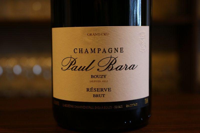 ブージイ レゼルヴ・ブリュット N.V. / ドメーヌ・ポール・バラ フランス/シャンパーニュ/白ピノ・ノワール、シャルドネ 辛口 この造り手のシャンパンは絶対に一度は飲むべき!華麗で力強い、ピノ・ノワール使い手の重鎮、そのバランス、ボリューム感がスタンダードの1本でも十分に表現されています