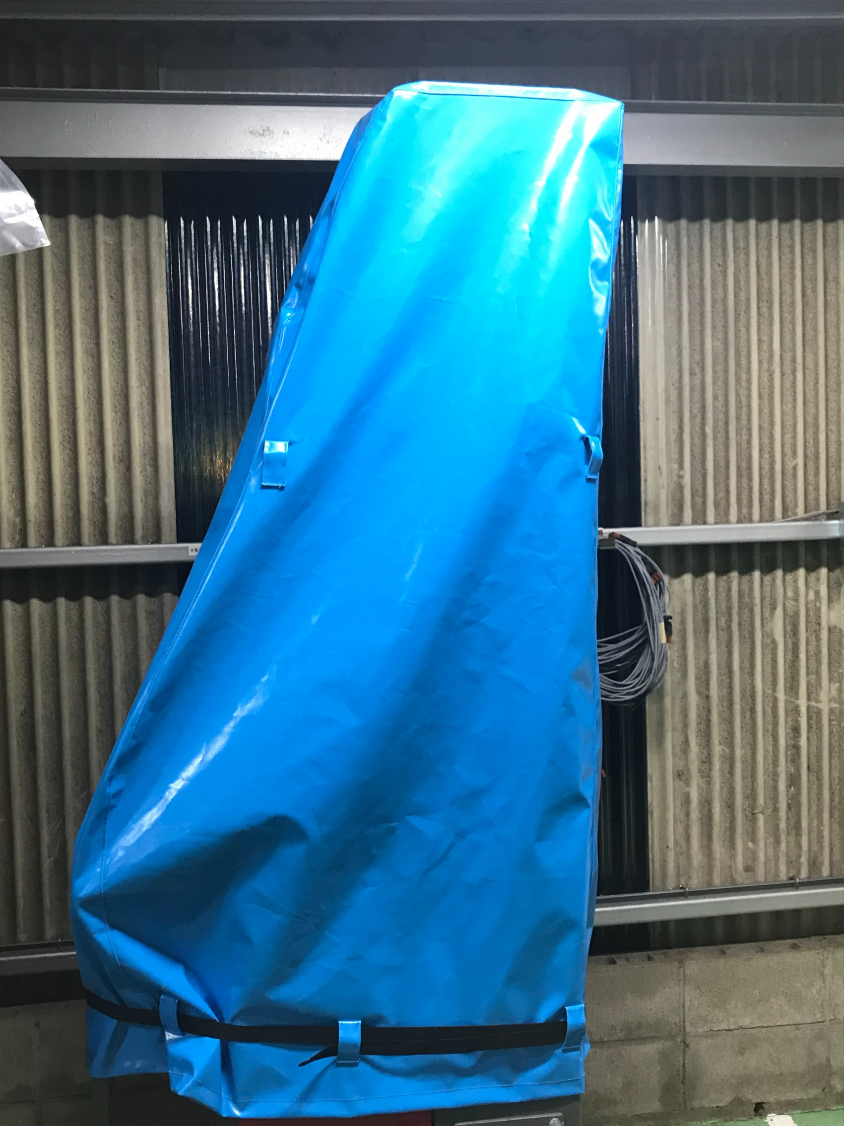 大分県にて 機械カバー 製作させて頂きました