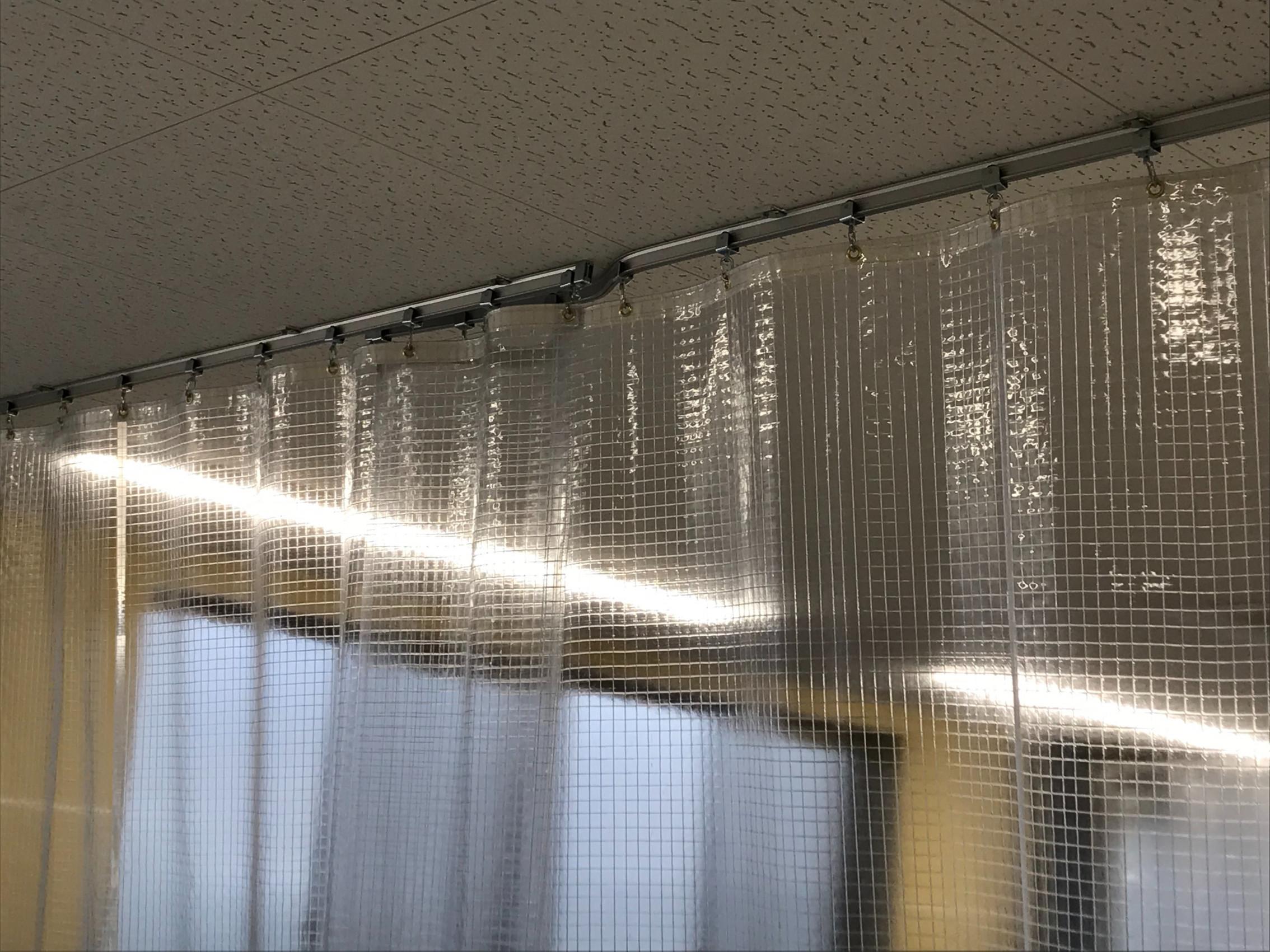 福岡県にて テントカーテン 施工させて頂きました。