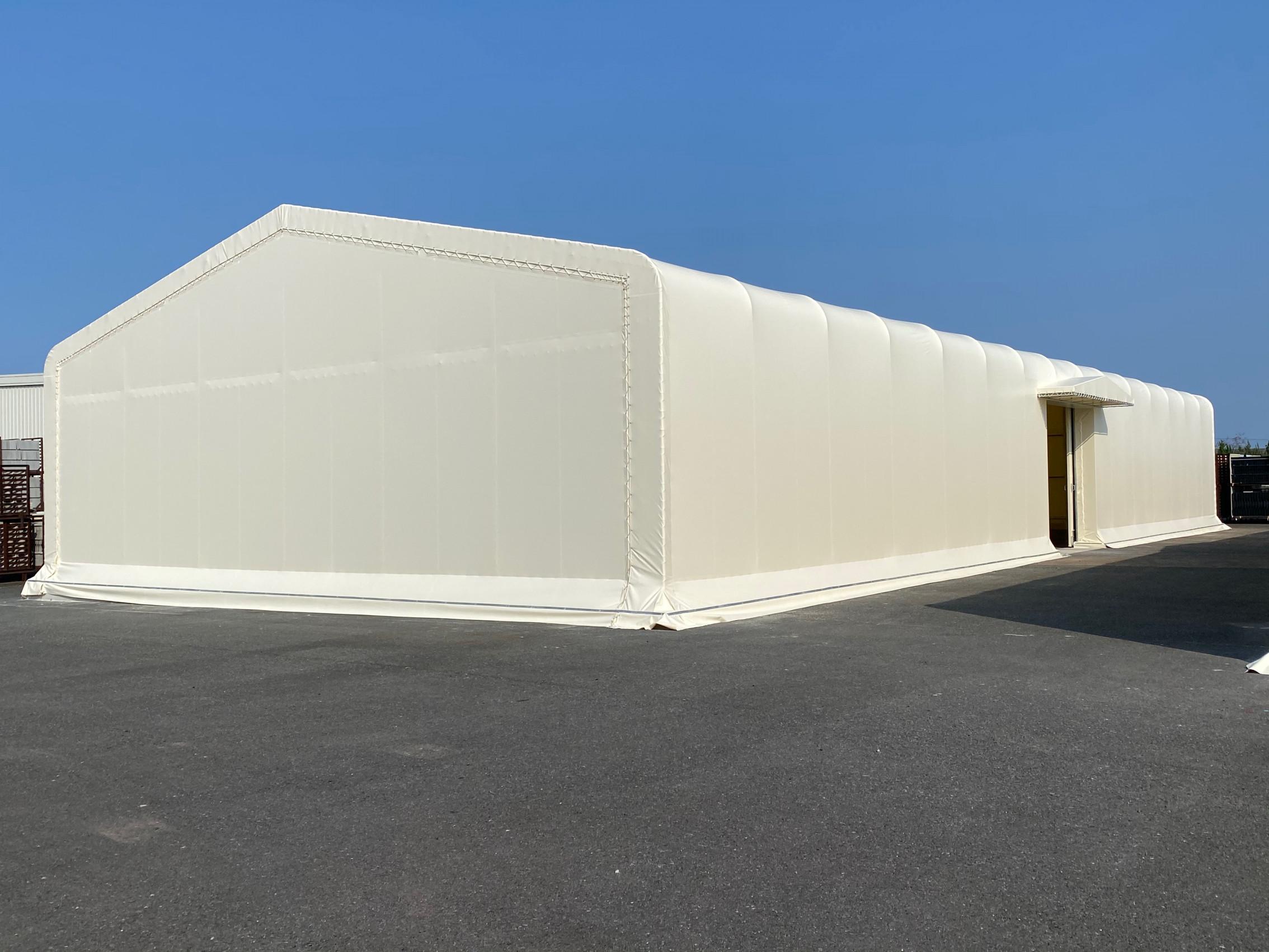 大分県にて テント倉庫 施工させて頂きました!
