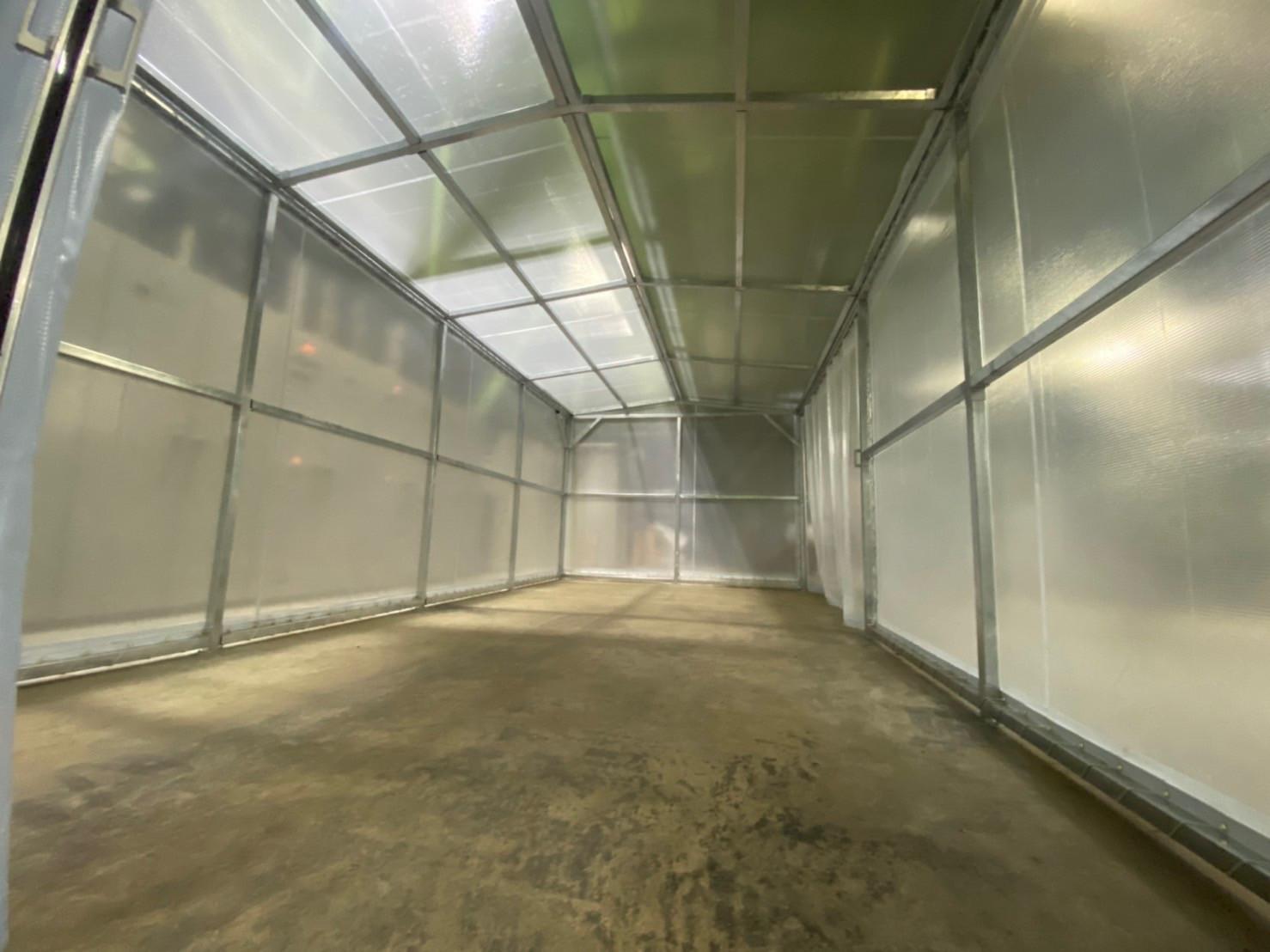 山口県にて 間仕切りテントブース 施工させて頂きました。