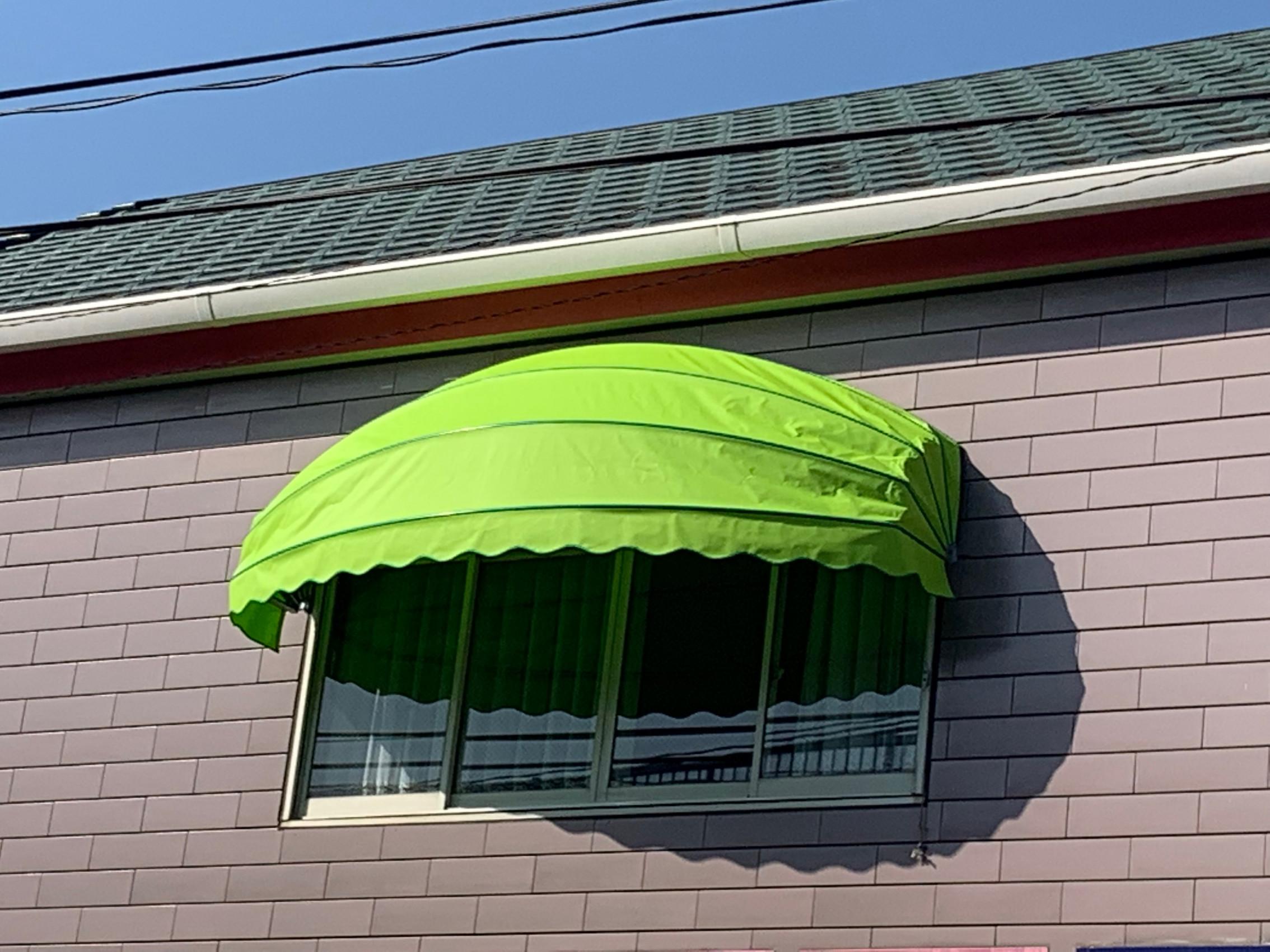 豊前市にて テント張り替えさせて頂きました。