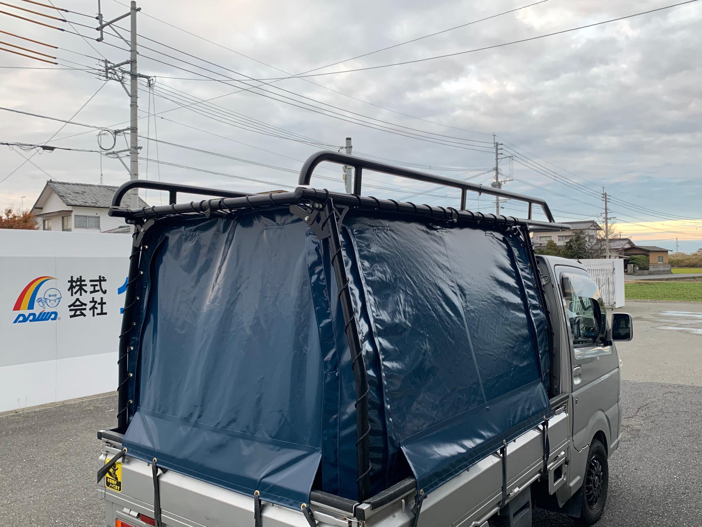 福岡県いて 幌シート 製作させて頂きました。