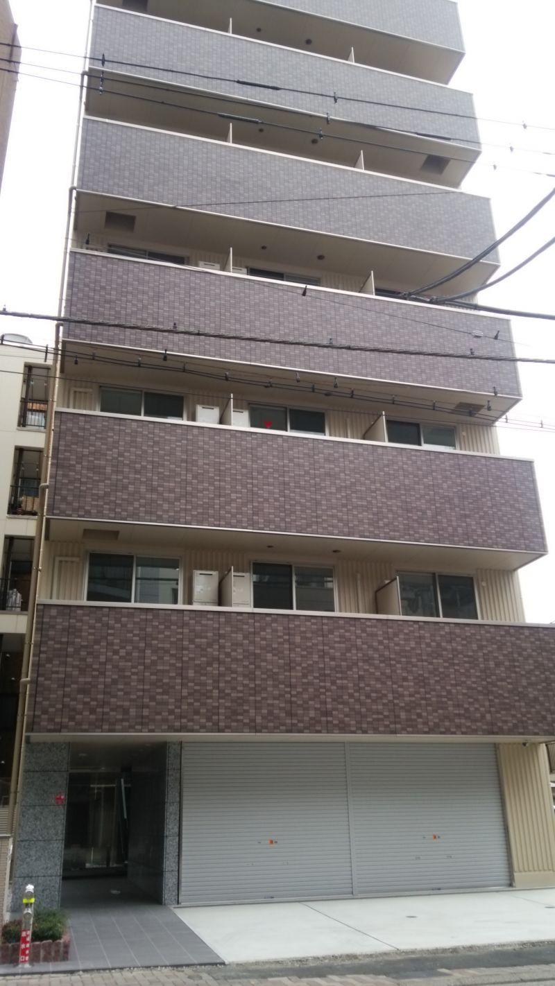 神奈川県川崎市8階建てビル防犯カメラ設置工事