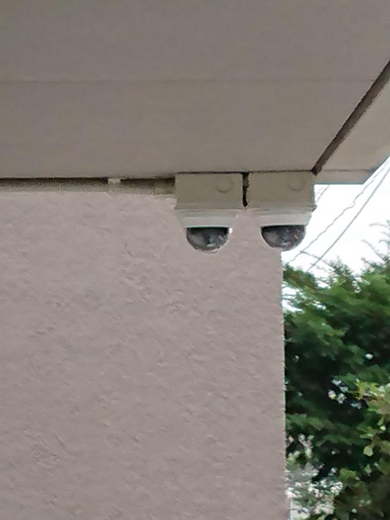 東京都大田区田園調布本町で防犯カメラ2台設置です