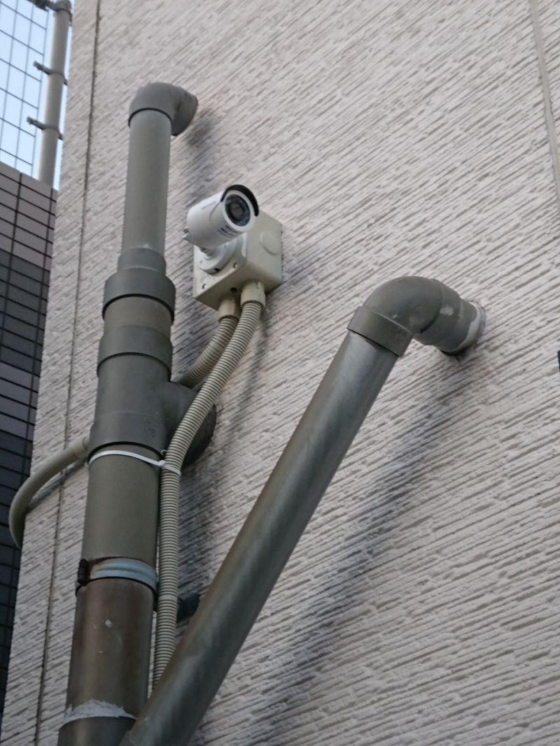 最近の防犯カメラ施工実績の例です