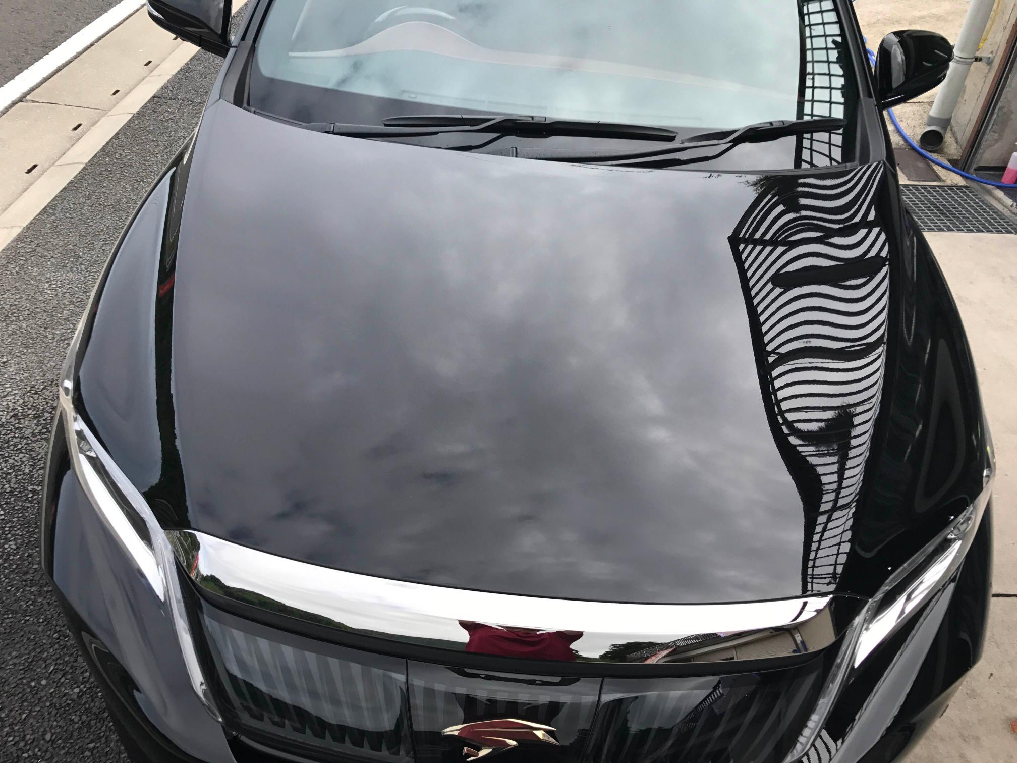 トヨタ ハリアー 液体ガラスコーティング